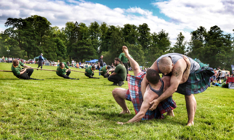 Highland Games Action