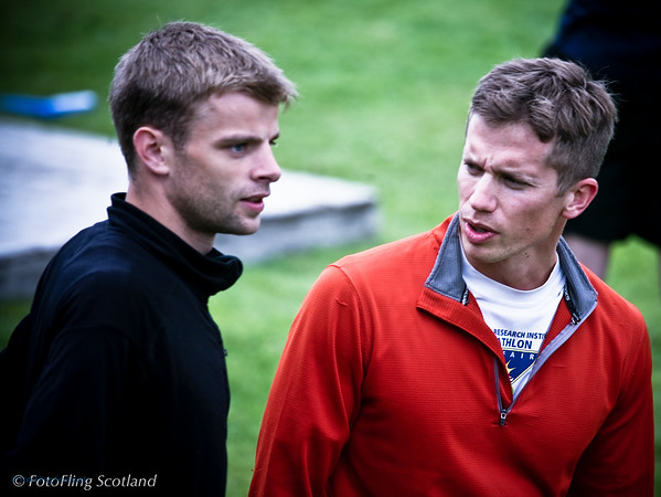 Pre Race Strategy Discussion Portree Highland Games