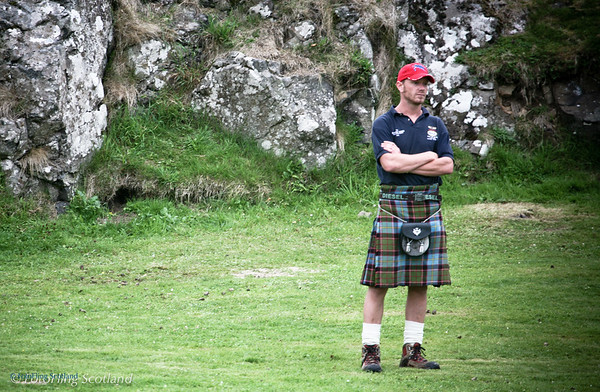All Alone Portree Highland Games