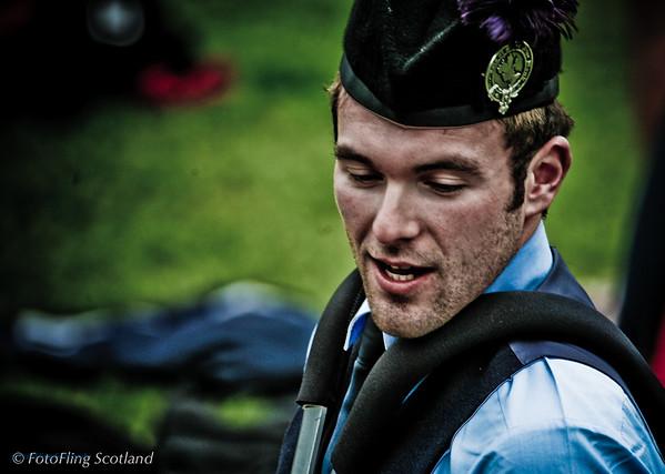 Drummer Isle of Skye Pipeband