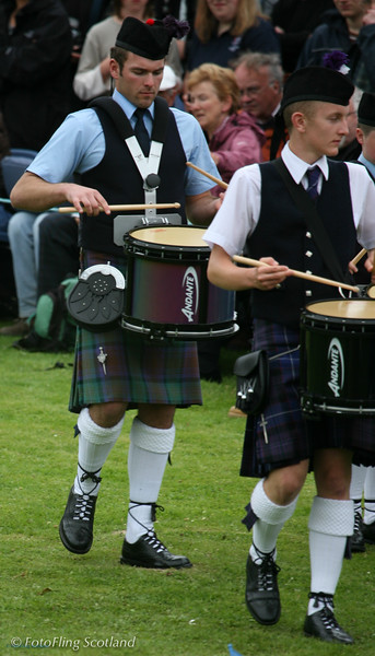 Skye Drummers Portree Highland Games 2008