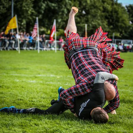 Highland Warrior Challenge: Backhold Wrestling