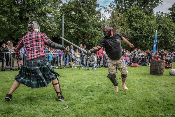 Highland Warrior Challenge: Sword Fencing