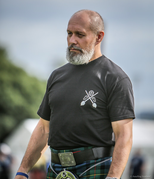 Vadim Kolganov organiser of the Highland Warrior Challenge 2017