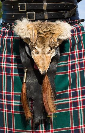 Michael's fox kilt purse 9283