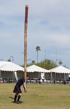 Pole straight up 9238
