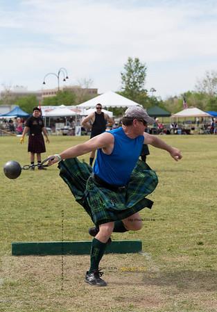 Toss iron ball skirt up 9156