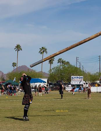 Pole in air 9248