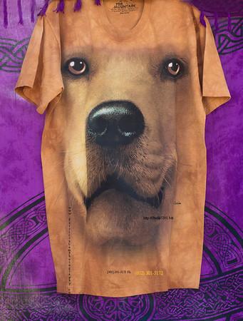 Yellow  dog shirt 9266