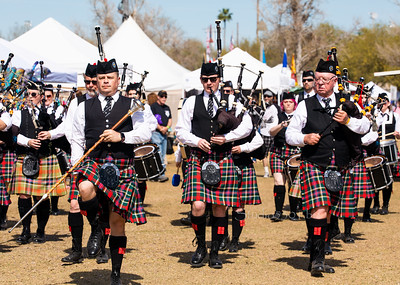 Scottish Bagpipe band 6509
