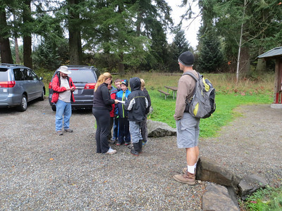 Cubscouts Geocaching