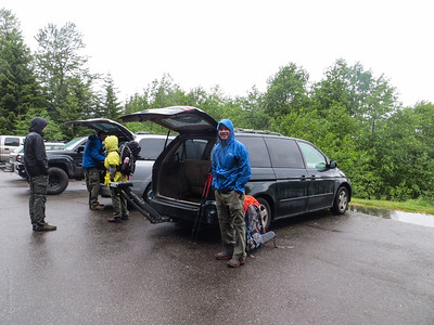 Overnight backpacking trip to Packwood Lake