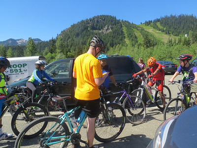 Ironhorse Trail / Snoqualmie Tunnel Biking Trip