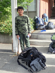 Troop 591 Begenner Backpack to Barclay Lake