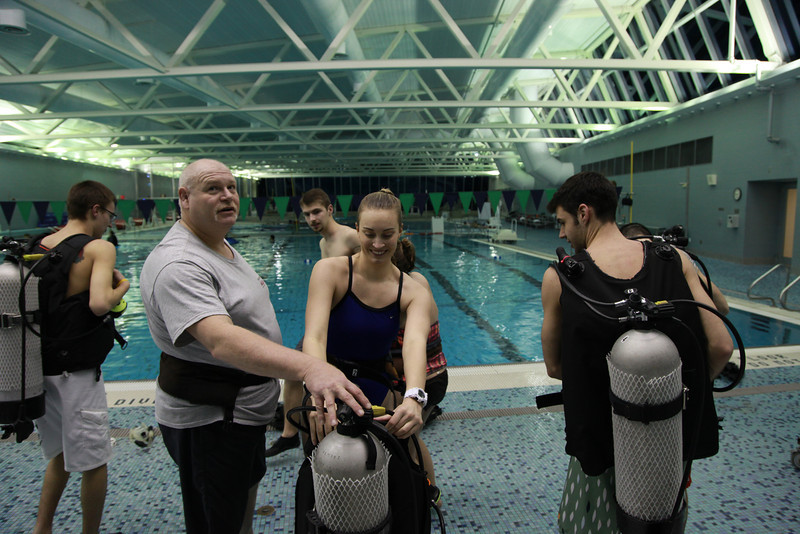 Scuba Dive Certification Training Spring 2014