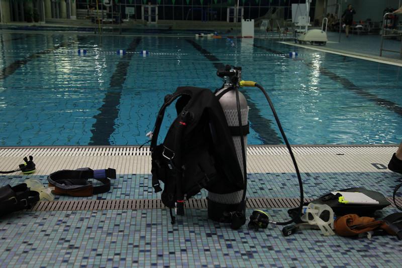 Scuba Dive Certification Training Spring 2014