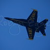 US Navy Blue Angel solo flyer up close and personal