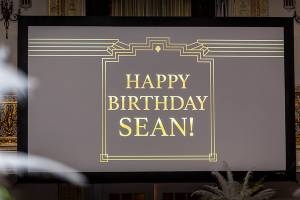 Sean Perich 50th Birthday Gatsby Party