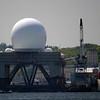 Interesting radar ship in port
