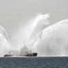 Fireboat demonstration