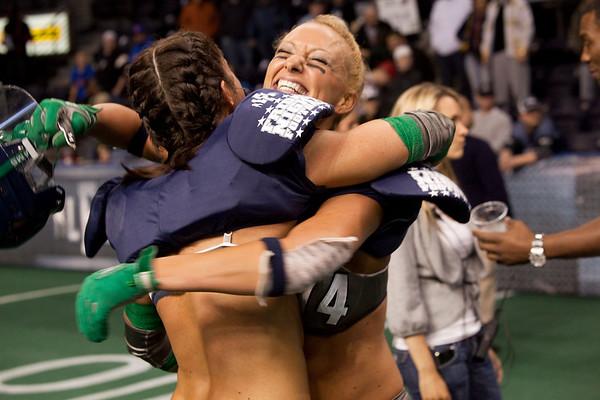 LFL Football Seattle Mist VS Dallas Desire 01-01-2010