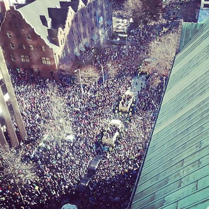 Seahawks Superbowl Victory Parade - February 2014