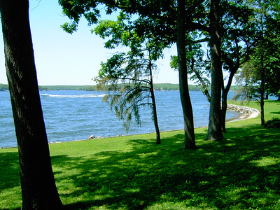 Another view from Mallard Point resort.