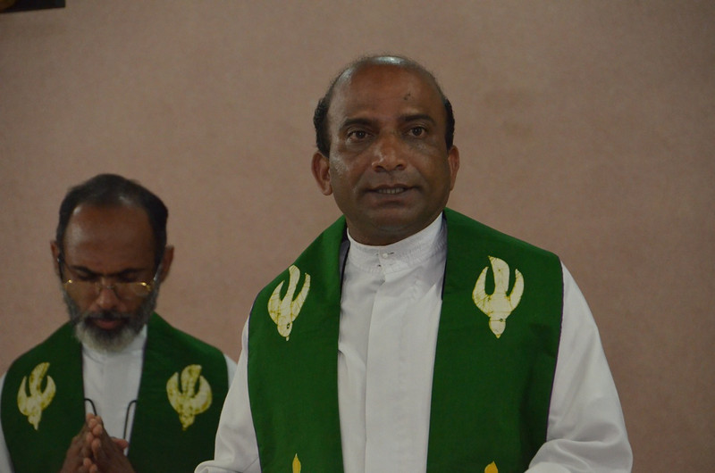 Fr. Mariano, superior of the Dehon Vidya Sadhan community.