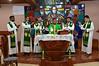 Several members of the district council joined the formation community for Eucharist.