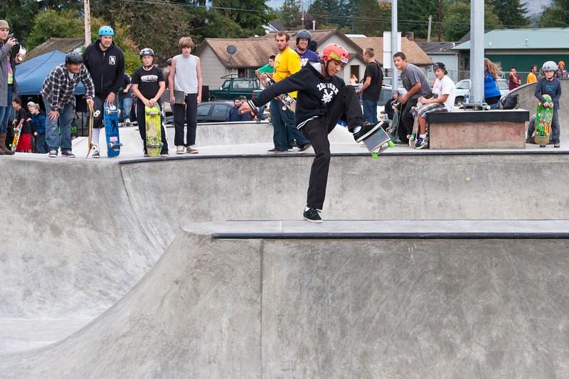 Sedro-Woolley Skate Park Opening - 13 October 2012