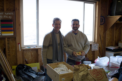 Gary and John who work in Mario Batali's Carnevino Restaurant and volunteer at Molto Farmer's Market at Springs Preserve on Thursdays http://www.facebook.com/MoltoVegasFarmersMarket joined us at seed to seed exchange at Quail Hollow Farm. Gary and John brought out all their favorite seeds and were very generous about sharing them with other gardners and farmers.
