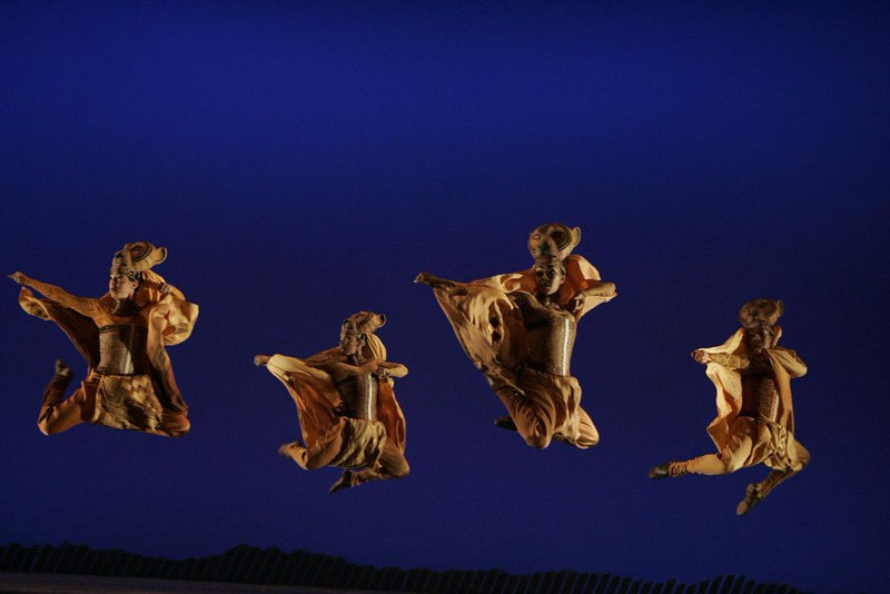 """Lionesses Dance"" in THE LION KING National Tour - Copyright Disney - Photo by Joan Marcus"