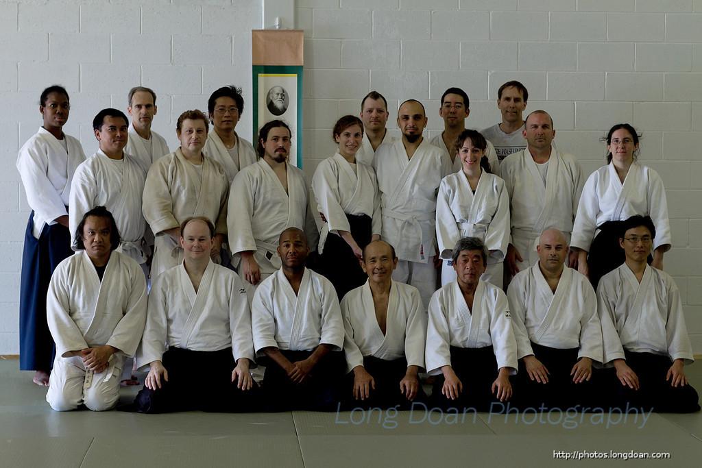 Seminar with Gordon Sakamoto Sensei, June 2012