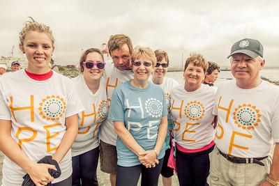 Sept 9th 2012 Walk for ovarian cancer