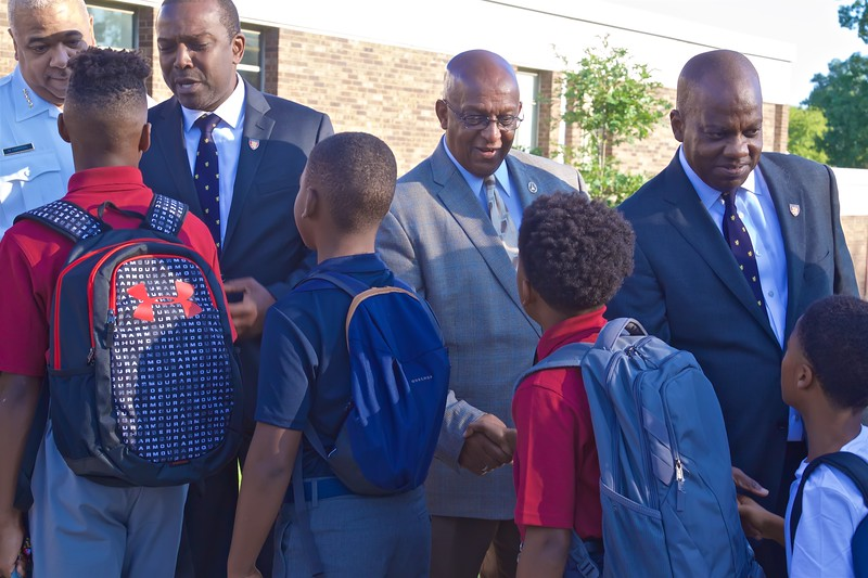 September 03, 2019 - Handshaking Ceremony at Baltimore Collegiate School