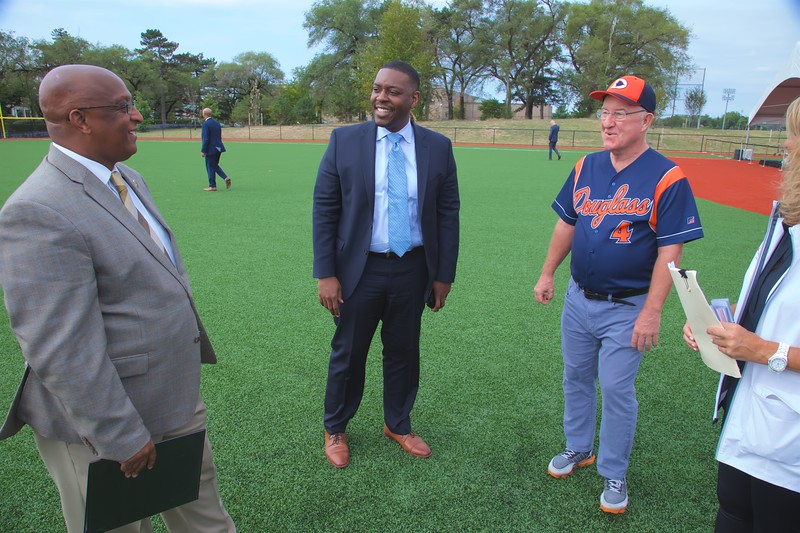September 17, 2019 - Ribbon Cutting Ceremony for Brooks Robinson Field at Frederick Douglass High School