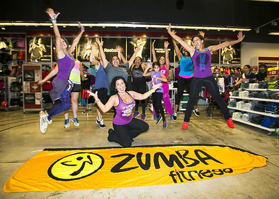 September 19, 2015 Grettel Zumba Reebok