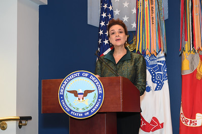2018 U.S. Department of Defense and U.S.  Department of Veterans Affairs Suicide Prevention month ceremony at the Pentagon, Arlington, Va., Sep 6, 2018. Hosted by the acting Under Secretary of Defense for Personnel and Readiness, Ms. Stephanie A. Barna.(U.S. Army photo by Mr. Leroy Council)