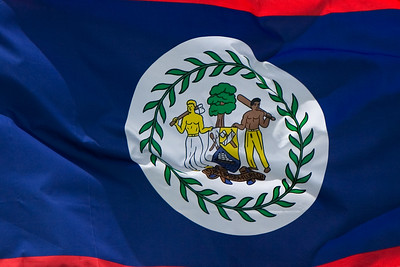 Flag of Belize.