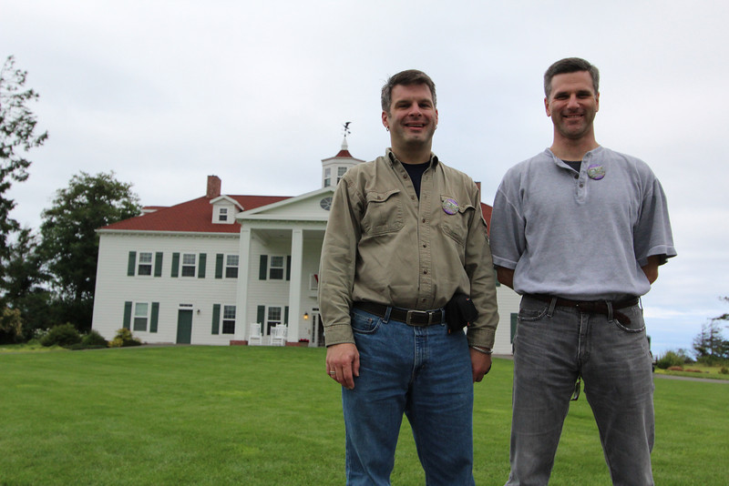 Mark and Curt's new Mount Vernon estate...