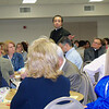 Fr. Nick Coffaro, featured speaker, amidst the attendees.