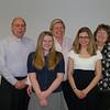 Fr. Jim Heller, Alana Wilson, Audrey Wilson, Gabriella Hoffman and Sharon Wahl (St. Stephen - Sagianw)