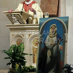 Bishop Malooly delivers his homily during the closing mass for the Sesquicentennial Anniversary of the Diocese of Wilmington at St. Elizabeth Church, Sunday, March 3, 2019. Photo/Don Blake