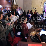 The choir sings during the closing mass for the Sesquicentennial Anniversary of the Diocese of Wilmington at St. Elizabeth Church, Sunday, March 3, 2019. Photo/Don Blake