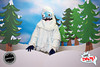 Winter Forrest Set (Live Action Yeti +$150, Request availability)