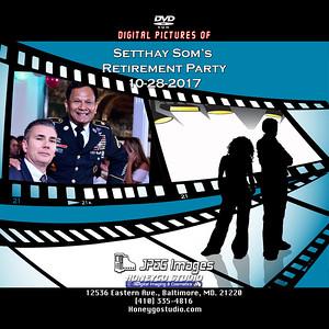 Setthay Som Army Retirement Party