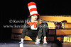 Abbey Crater, as the (lead character) Cat in the Hat, does a great job as a guide, director, doctor, joker and trouble maker (Kevin Hartley Photography)