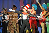 Abbey Crater gives a great performans as front man, the Cat in the Hat (Kevin Hartley Photography)