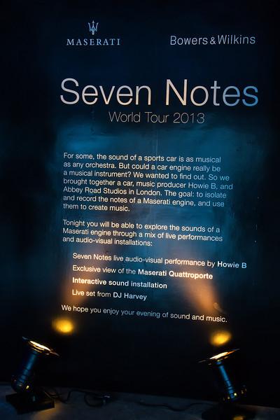 "SEVEN NOTES World Tour 2013 - A Partnership in Sound<br /> <br /> <a href=""http://www.sevennotes.com/"">http://www.sevennotes.com/</a>"