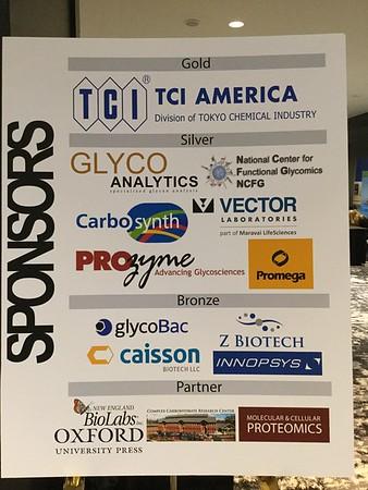 SfG 2017 Annual Meeting Sponsors